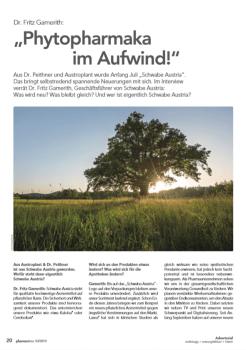 Pharmatime:Dr.Fritz Gamerith erzählt im Interview über Neuerungen bei Schwabe Austria. – © Screenshot Schwabe Austria