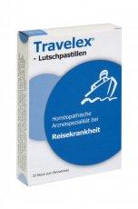 Travelex® Lutschpastillen helfen bei Reisekrankheit