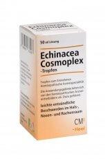 Echinacea-Cosmoplex® bei leichten Entündungen im Bereich des Rachens, der Nase und Mund