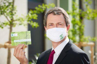 Schwabe Austria schenkt allen Mitarbeitern nachhaltige Schutzmasken für den Privatgebrauch - © Johannes Hloch