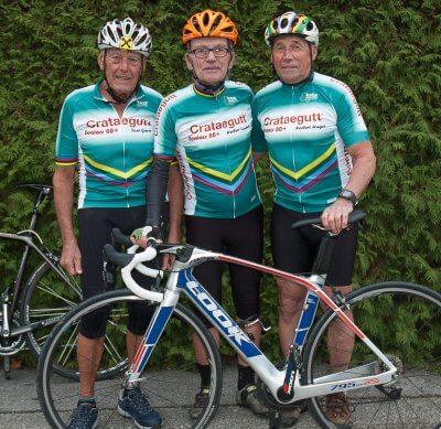 """Race Around Niederösterreich: Neue Ziele für die """"Crataegutt®-Seniors 80 plus"""" - CRA Seniors Fahrrad Race Around NÖ – © Herbert Lackner"""