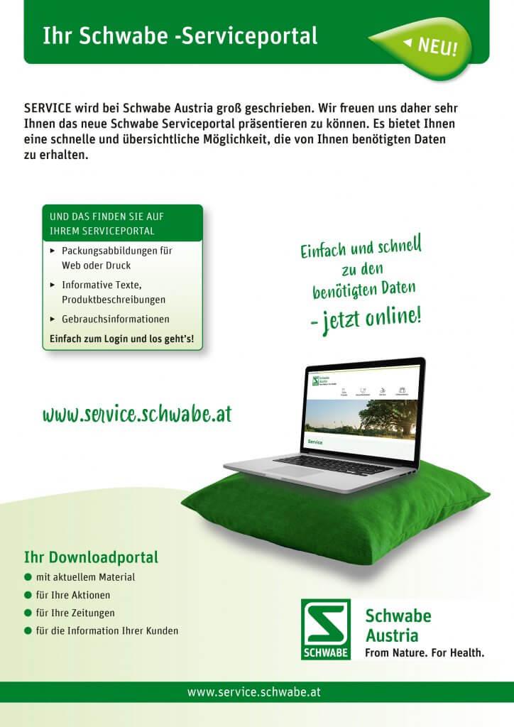 Schwabe Austria Service Portal Download