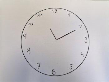 Demenz Uhrentest perfekte Uhr