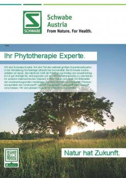 Apothekerkrone Schwabe Austria Phytotherapie Experte – © Schwabe