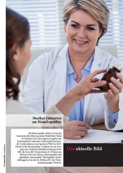 Apotheker Krone: Starkes Interesse an Homöopathie - Apotheker Krone Steigendes Interesse Homöopathie – © Screenshot Schwabe Austria