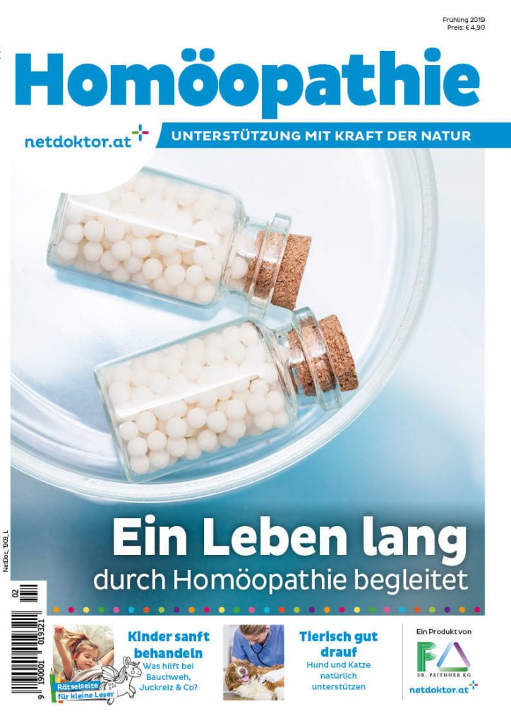 Netdoktor Magazin Homöopathie Unterstützung Kraft Natur – © netdoktor