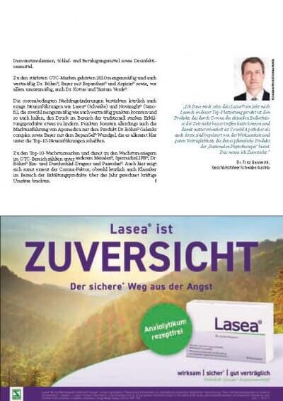 Apotheker Krone: Bericht über das OTC-Jahr 2020 - Apotheker Krone OTC-Jahr 2020 – © Screenshot Schwabe Austria