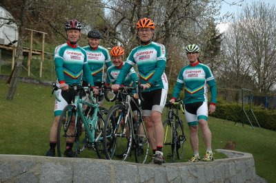 Unsere Crataegutt®-Seniors beim Race Around Austria - Crataegutt Seniors 2021 - © Herbert Lackner